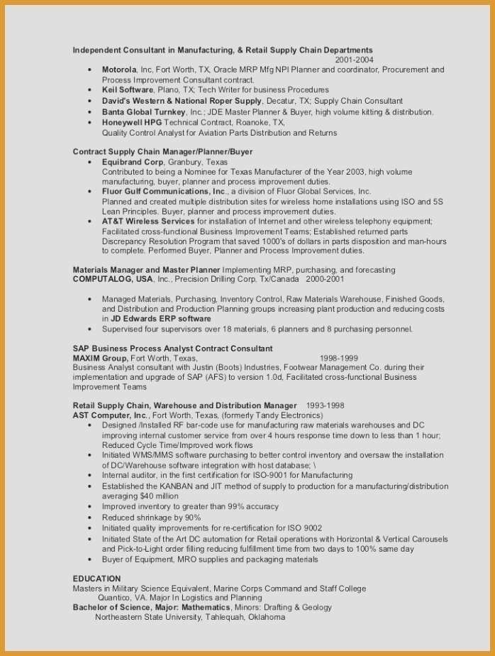 28 Project Management Resume Examples 8211 Pick On A Resume