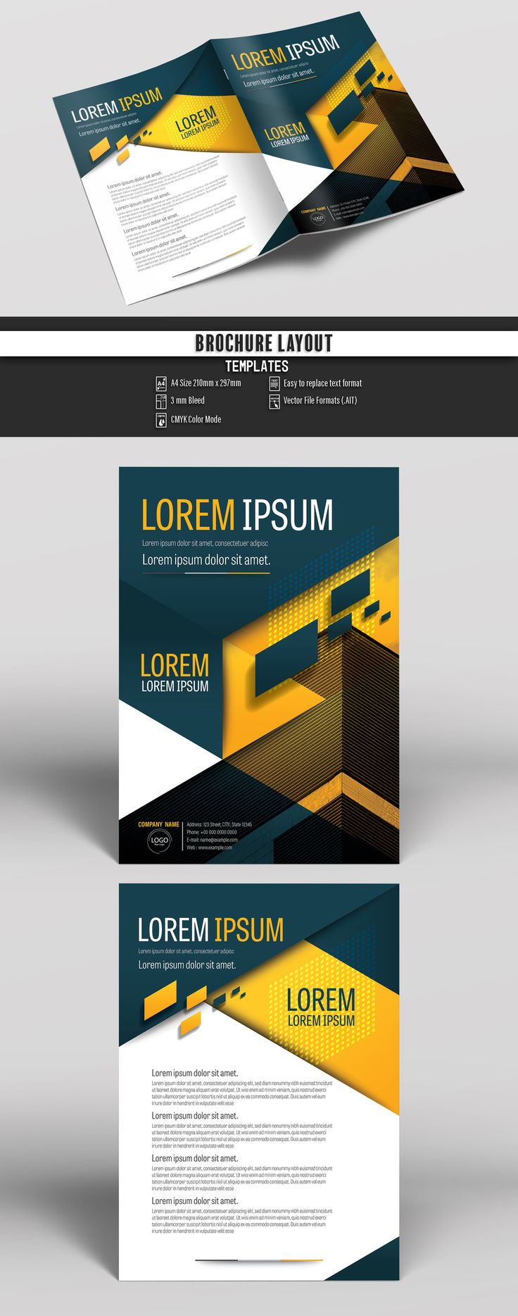 how to create a proposal template in word%0A Buy this stock template and explore similar templates at Adobe Stock   Brochure  Business  Proposal  Booklet  Flyer  Template  Design  Layout   Cover  Book