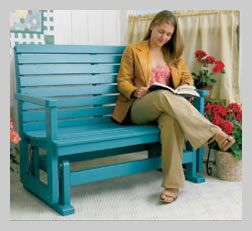 Free Porch Glider Project Plans » Woodwork City