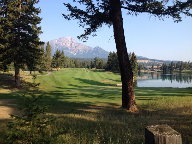 Canada's # 1 Golf Resort....it's still summer in the Rockies.  Fairmont Jasper park Lodge.