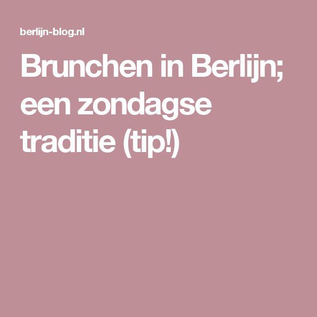 Brunchen in Berlijn; een zondagse traditie (tip!)