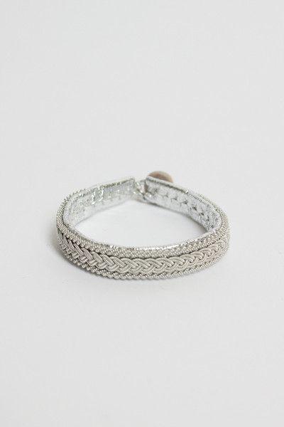 Maria Rudman | Silver B4 Bracelet