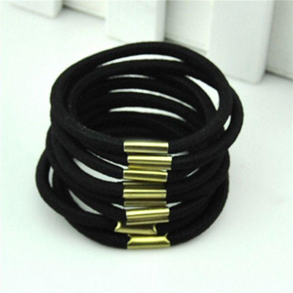 51020pcs Baby Girls Unisex Elastic Hair Ties Band Rope Headband Ponytail Holder Bracelets Scrunchie