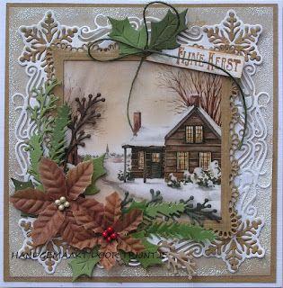 Trijntjes Kaarten: kerstkaart week 37