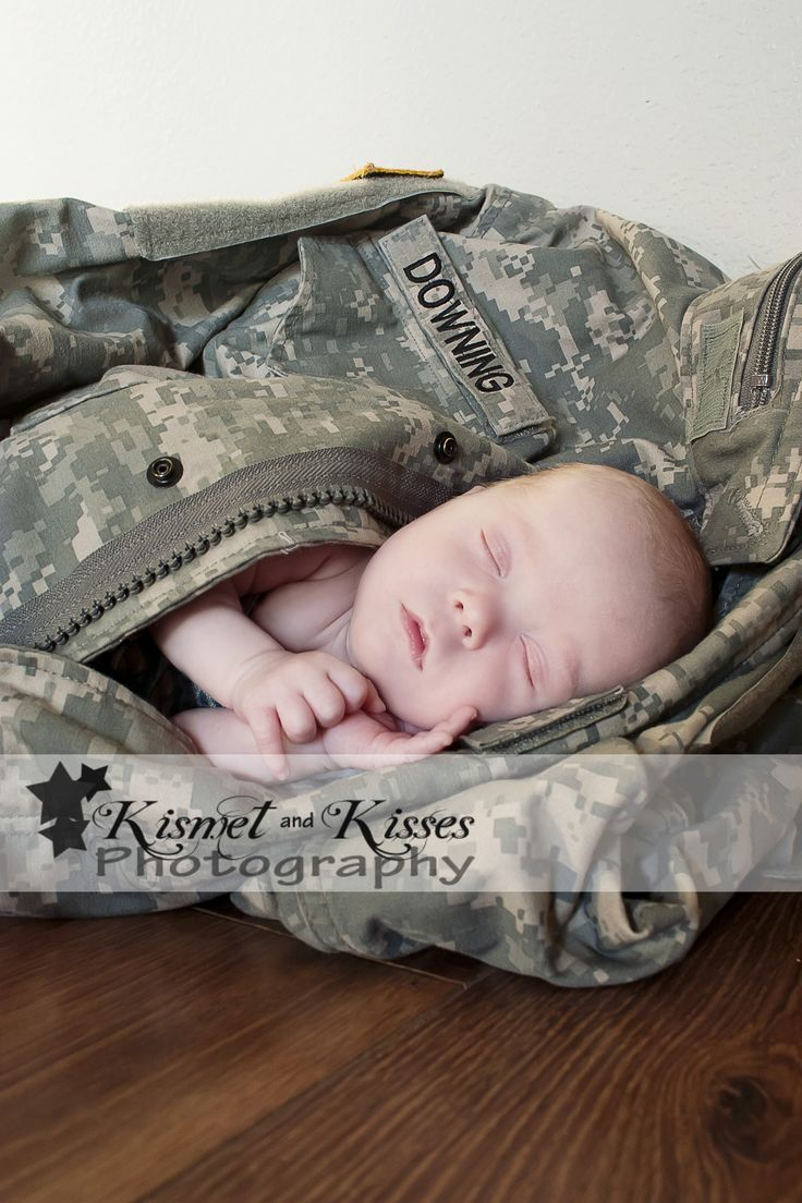 Army baby - infant photography  http://www.facebook.com/kismetandkissesphotography Def doing this when then time comes but not army ;)