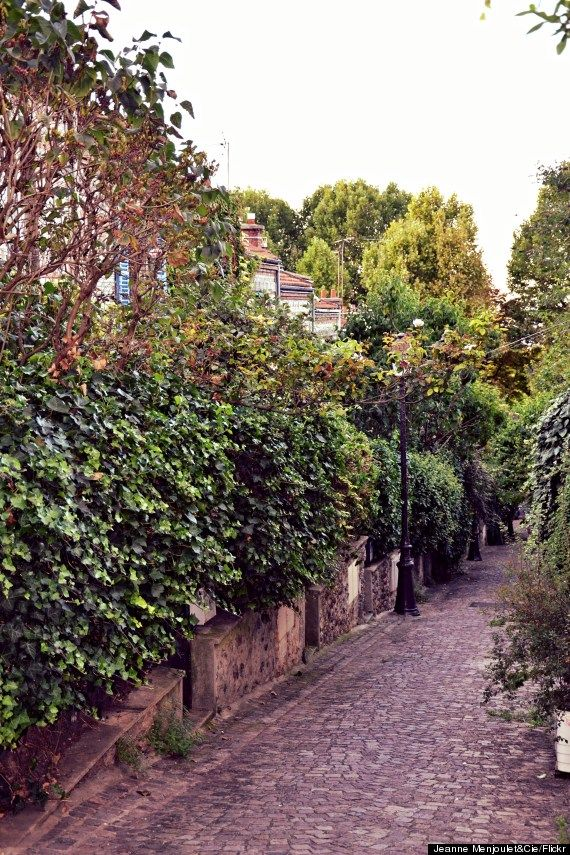 Paris Most Secret Streets You Need To Walk  La Mouzaia Address: A 19 - Belleville & surroundings It's technically a little enclave in the middle of Paris, and it's darling.