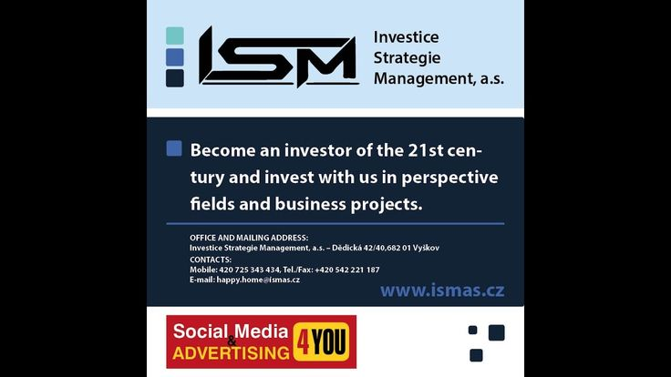 Investice Strategie Management, a.s. - Investment Strategy Management
