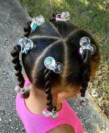 Zöpfe Afroamerikaner Kinder Twist Frisuren 52 Ideen
