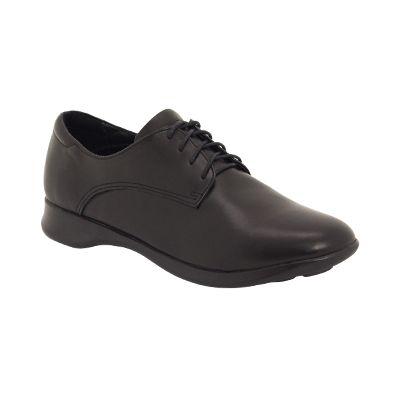SNICKER II Snr - Black - School Shoes - ROC School Shoes Australia