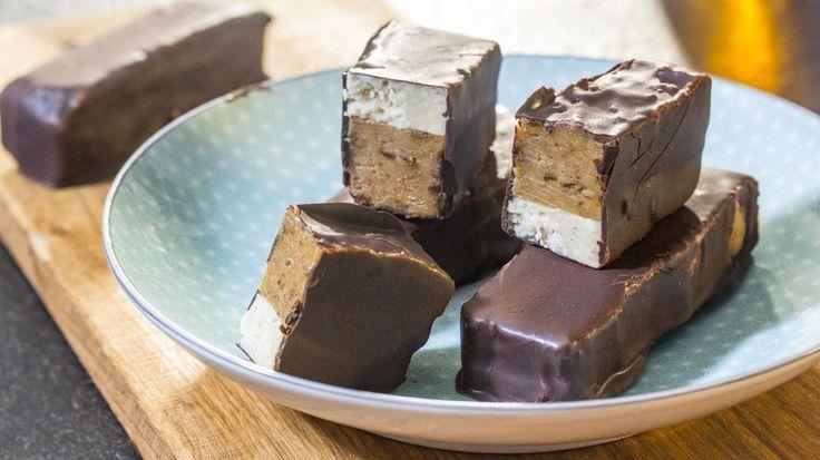 Homemade snickers   VTM Koken