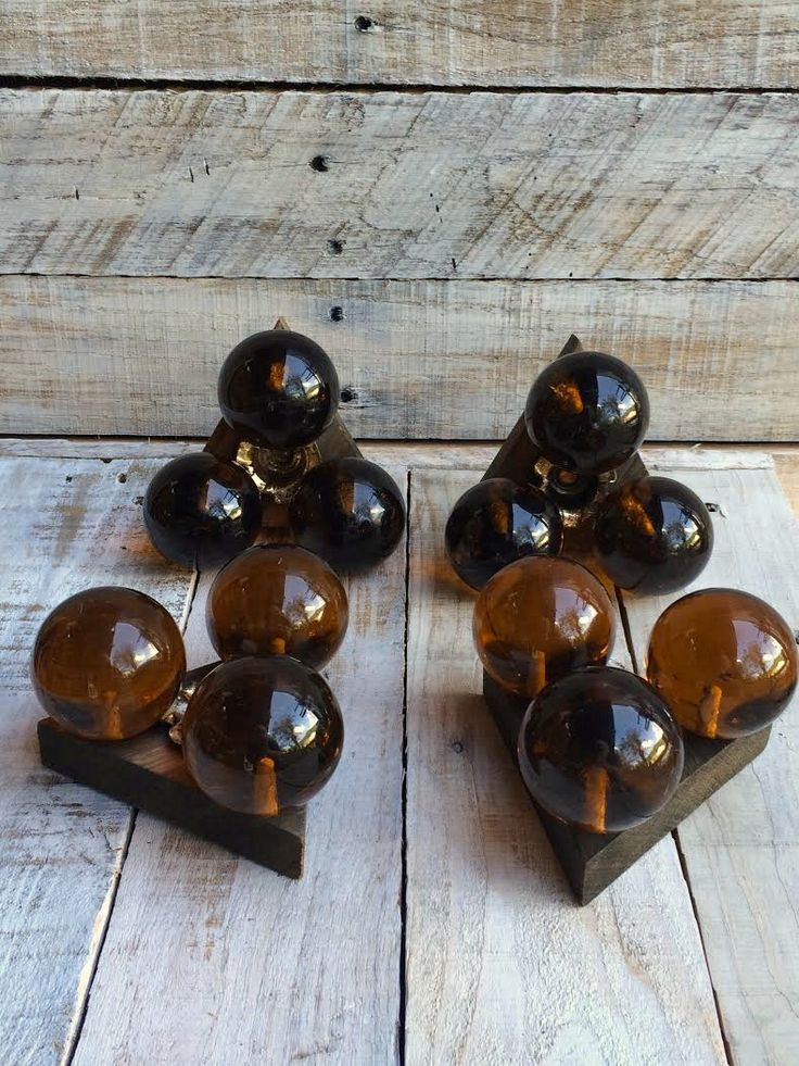 70s Style - Candlestick Holders - Retro Lighting -Groovy Brown Candle Holder Set -Funky Candles -Bubble Lights -cool candles, unique candles by BostonInventory on Etsy https://www.etsy.com/listing/225321062/70s-style-candlestick-holders-retro