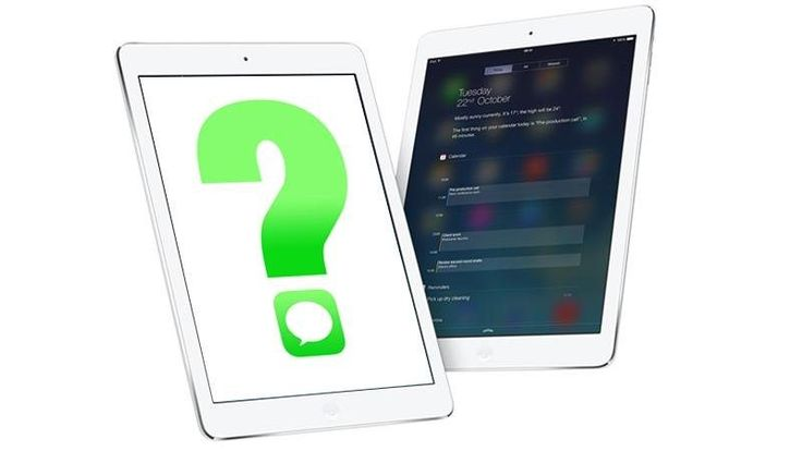Sending SMS text messages from an iPad isn't as straightforward as you might think. You'll have noticed the pre-installed Messages app, but that's for sending iMessages (which can only be sent to other people on an iPhone or iPad) rather than conventional SMS text messages...