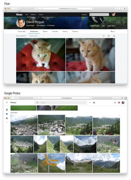 The Pogue Review: Flickr vs. Google Photos — Which Free Photo App Is Better?