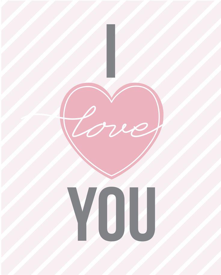 Free printable 8×10 Valentine's Day art print