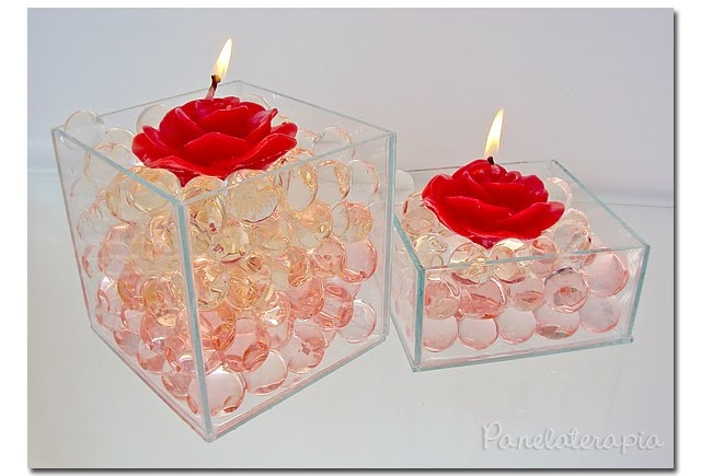 Centro de Mesa p/ o Dia dos Namorados