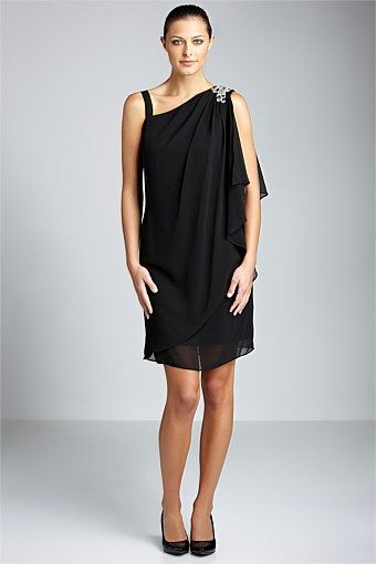 Dresses | Buy Women's Dresses Online - Grace Hill Asymmetrical Shift - EziBuy New Zealand