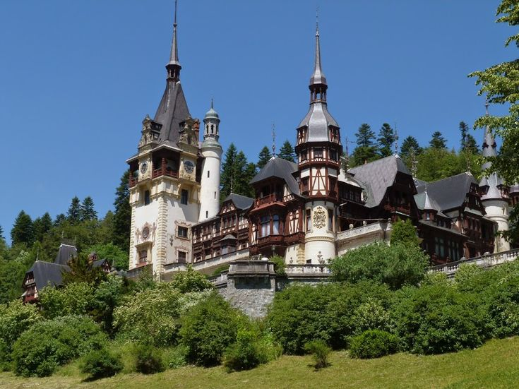 Peles Castle in Sinaia, Romania is one of the most beautiful castles of Europe.