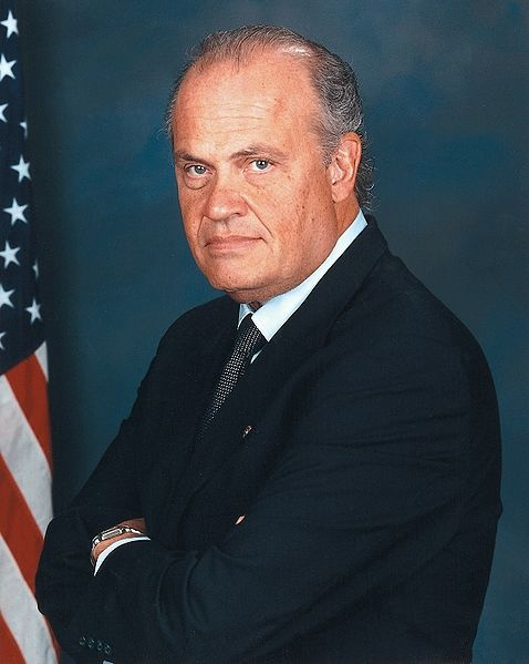 Fred Thompson, while he is probably more famous for his role on Law & Order, than his career as a Senator, Fred Thompson was the inspiration for FBI Bureau Chief John Novak, Agent Fletcher and Agent Hollick's boss in, The Alex Hollick FBI Series (Part One: The Bloodbath Ritual) Thompson matches Novak to a tee in terms of looks, a southern accent and speech patterns based on his acting career.