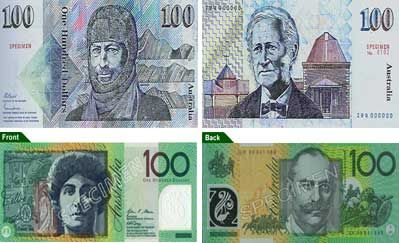 26 March - Australia introduces the $100 note.