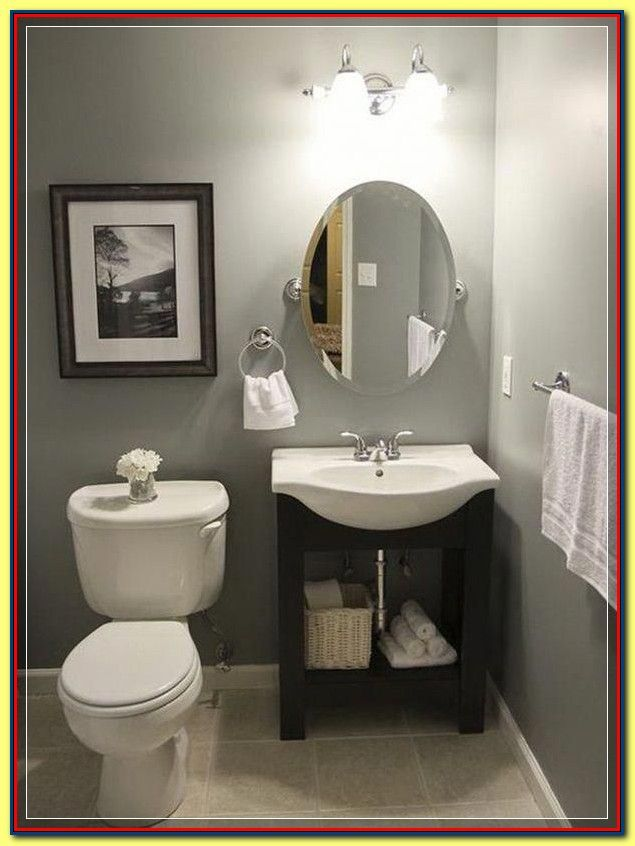 Get Ready To Be Bombarded Once A Ton Of Cool Bathroom Decorating Ideas Upon A Budget Each Intend In 2020 Guest Bathroom Small Half Bathroom Decor Small Half Bathrooms