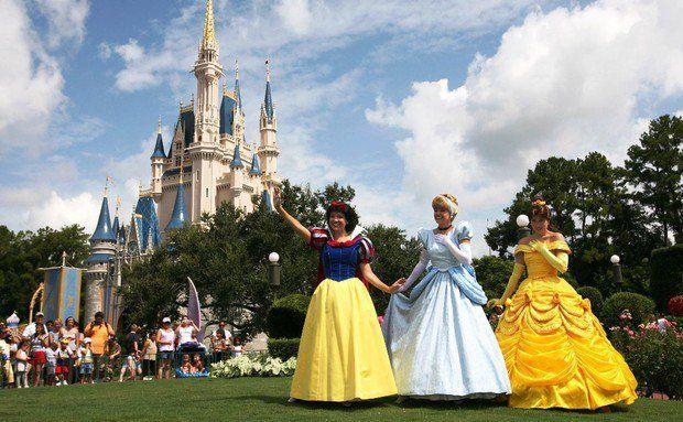 Magic Kingdom Cinderella Castle  Walt Disney World Resort Orlando EUA