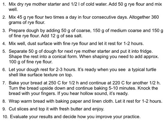 Raimugido Baking Instructions - 10 steps.