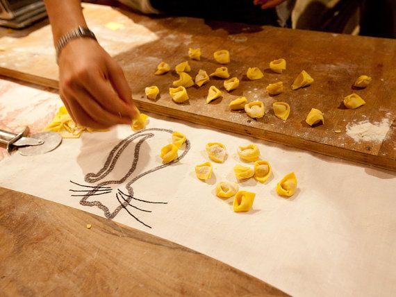 Canovaccio in cotone bianco_Strofinaccio resistente_Strofinaccio da cucina_Teatowel cotton hand embroidered_Strofinaccio da cucina in canapa cotone con di artericamihome