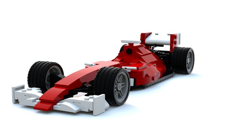LEGO MOC-12529 Formula 1 car (2017/2018 variant) (Racers > Ferrari 2018) | Rebrickable - Build with LEGO