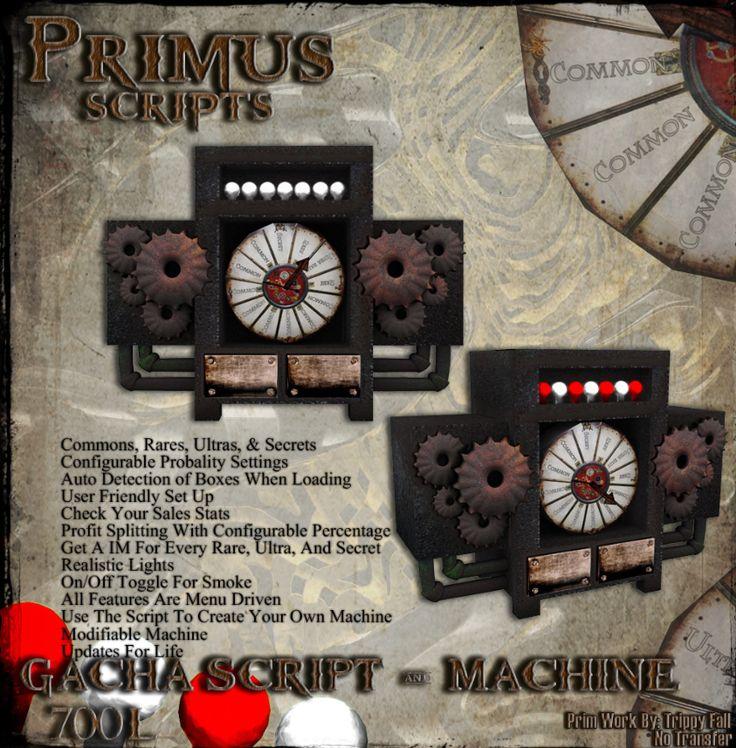 Primus Weapons