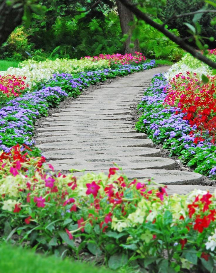 Flower Garden Ideas In Michigan 79 best garden paths images on pinterest | landscaping, gardens