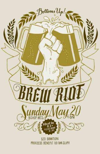 Brew Riot - Bottoms Up!