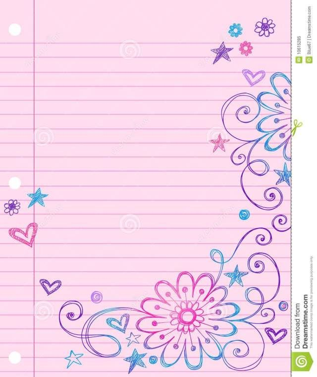 image regarding Cute Printable Notebook Paper known as Lovable Printable Laptop Paper - Absolutely free Obtain paper