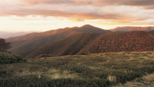 Alpine National Park in High Country, Vic, Australia