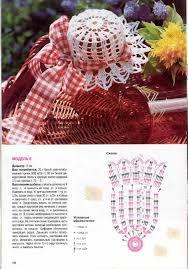 Resultado de imagen para como hacer tapas para frascos tejidas