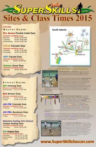 2015 Schedule for Jakarta