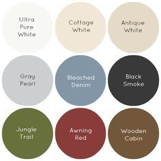 Farmhouse Colors - Behr.