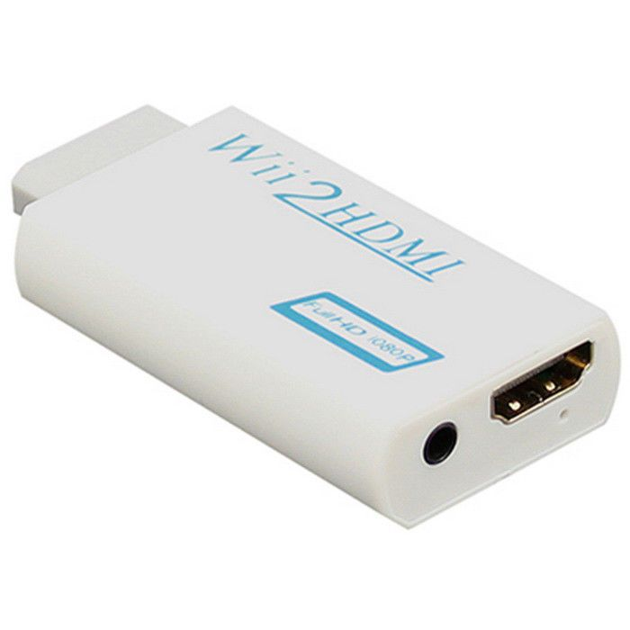 Wii to HDMI Wii2HDMI Adapter Converter + 3.5mm Audio Box - White | Consumer Electronics, TV, Video & Home Audio, TV, Video & Audio Accessories | eBay!