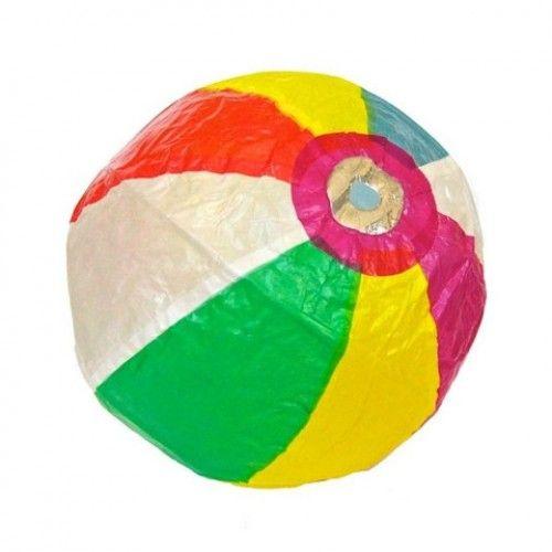Japanese Paper Balloons - Beach Ball