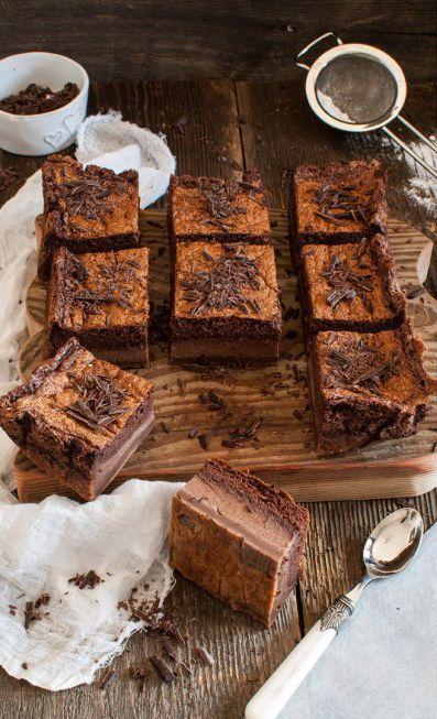chocOlate fondant flan cake