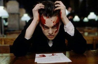 "Leonardo DiCaprio (Arthur Rimbaud) in ""Total Eclipse"" (1995) >> Powerful screencap! ... #WantToSee"