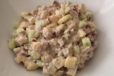 Очень Вкусный Салат из Шампиньонов, Огурца и Яблока