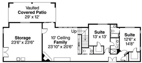 Plan 72237DA: Roomy Craftsman Bungalow