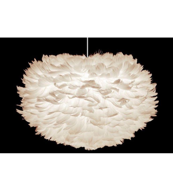 Lampa z piór Eos Vita Copenhagen Design, Scandinavian Living, 475zł