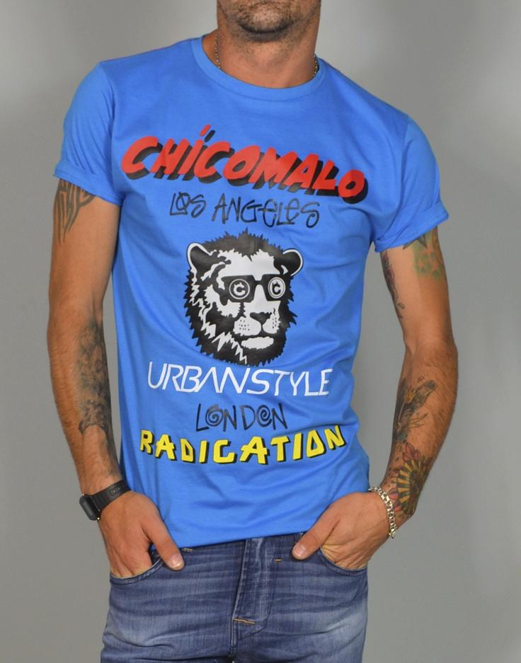 Camiseta de hombre con estampado Chicomalo Urbanstyle. Camisetas con estampados divertidos para chicos muy atrevidos. Solo en www.tiendas13.com