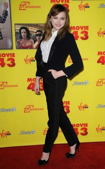 "chloe moretz movie 43 photos | Chloe Grace Moretz Photos - ""Movie 43"" Premiere - Zimbio"