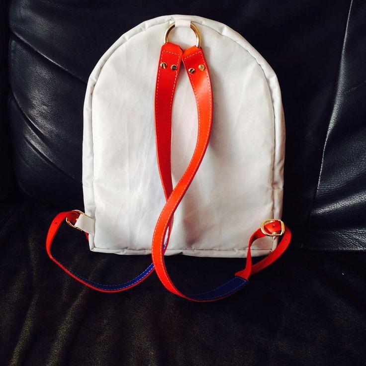 Salty Bag x Yacht Club de Monaco  #ssp #soonbabysoon #backpack #sailing #upcycling #saltybag #bag #shopping #fashion