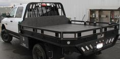 Leopard model aluminum truck flatbed body by highway products inc