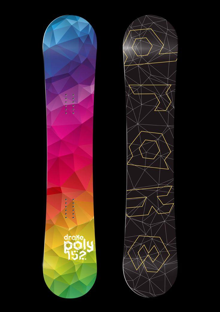 Snowboard design by Martin Zarian www.martinzarian.com