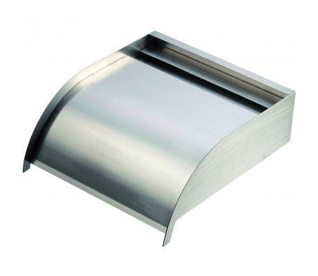 Ränna i rostfritt stål för trädgårdsvattenfall Ubbink 30 cm