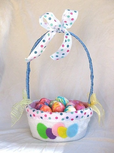 188 best dulceros pascua y mas images on pinterest easter crafts diy easter basket for kids negle Image collections